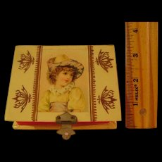 Vintage Small Celluloid Sewing Box