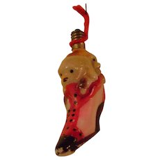 Vintage Dogs in Shoe Christmas Tree Light