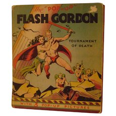 Vintage 1935 Flash Gordon Pop-up Book