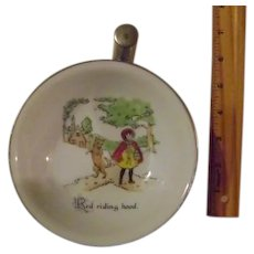 Vintage Little Red Riding Hood Warmer Feeding Bowl