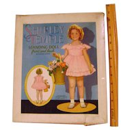 Vintage Shirley Temple Boxed Paper Doll and Clothes