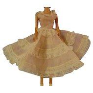 Vintage barbie Doll Dress/Under slip and Pants