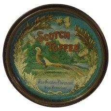 Vintage Golden Pheasant Scotch Toffee Tin