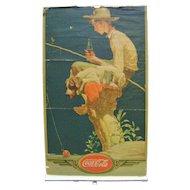 1935 Norman Rockwell Coca Cola Calendar top