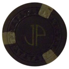 Vintage Poker Chip from Southern Club Hot Springs Arkansas