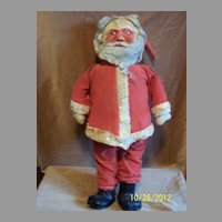 """1920's 26"""" Masked Face Santa - Lovely Display Piece!"""