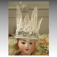 Soft Metal Crown for your Bisque Head Doll