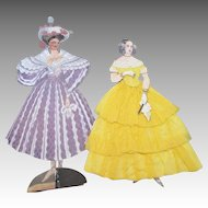 Paper Dolls in Godey Fashion
