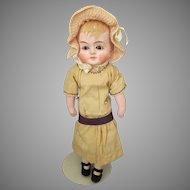 Sweet Antique Paper Mache Head Doll
