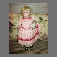 Antique Kestner 148 Bisque Head Doll