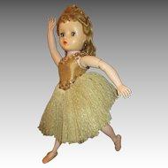 Vintage Madame Alexander Elise Ballerina Doll in Original Costume