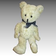 Sweet Antique White Mohair Teddy Bear