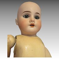 Antique Bisque Head Doll With Jumeau Marked Body - TLC Doll