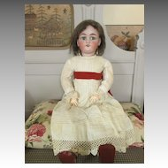 Lovely Antique S&H Jutta in Darling Dress - Sweet look