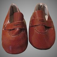 Tan Doll Shoes or Loafers