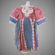 Lovely Doll Dress for your Antique Doll