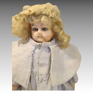 Antique Paper Mache Head Doll - Sweet Look - Much Loved