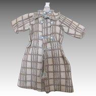 Antique Eiderdown Coat for Your Large Antique Doll