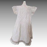 Adorable Primitive Dress for Doll or Child