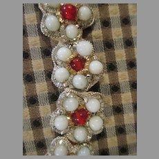 Vintage Bead Work For Doll Dress Making