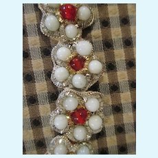 Vintage Bead Work For Doll Dress Making