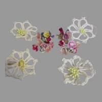 Vintage Millinery Flowers To Adorn Your Doll's Clothes