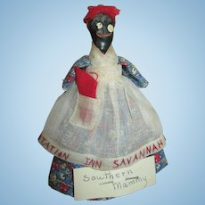 Vintage Folk Art Nipple Mammy Doll