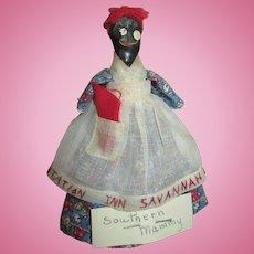 Vintage Folk Art Nipple Mammy Doll