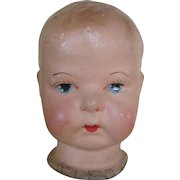National Biscuit Co. Advertising Doll Head - Wonderful Condition