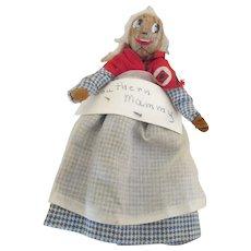 Vintage Nut Head Mammy Doll