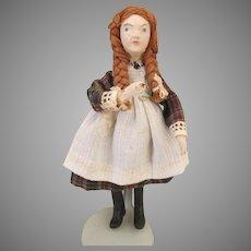 Artist Sculpted Doll House Doll