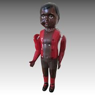 vintage Black Celluloid Boy Doll - Nice Details