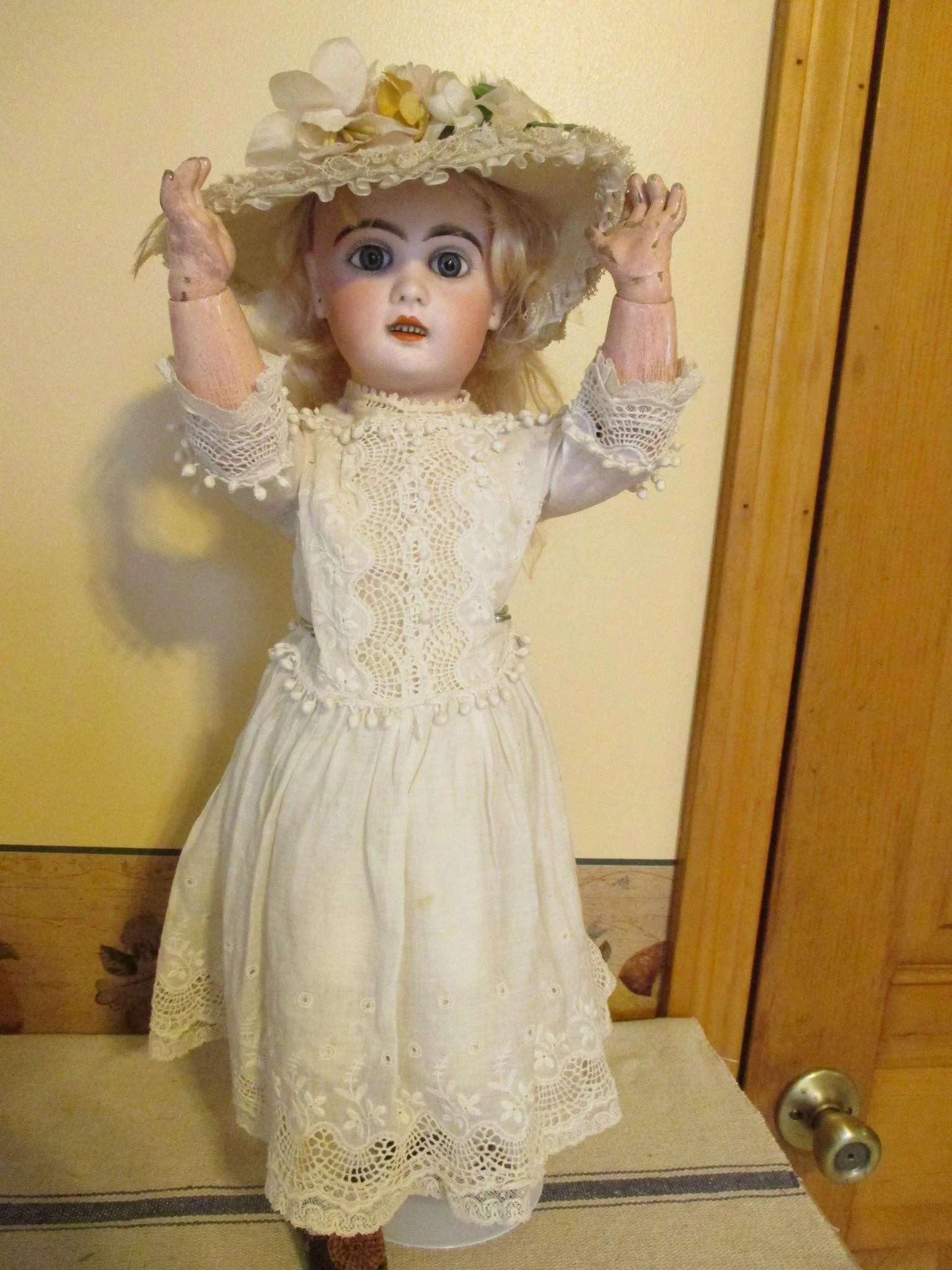 Antique French Jumeau Doll Sensational Look Nostalgic