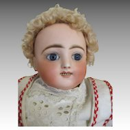 Antique Steiner Bebe Gigoteur Bebe - Kicking Screaming Baby Doll