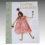 """Crafting Cloth Dolls"" Book by Miriam Christensen Gourley"