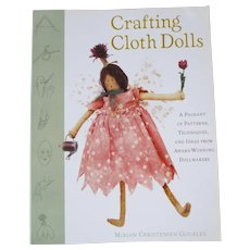"""Crafting Cloth Dolls"" Book by Miriam Christensen Gourley - Red Tag Sale Item"