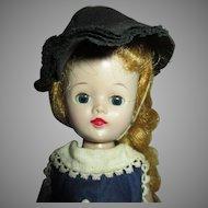 1957 Vogue Jill in Tagged Blue Dress - Long Blond Hair