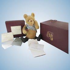 R. John Wright Holiday Pooh Bear