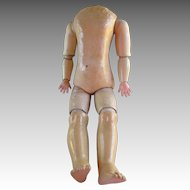 Antique French Doll Body