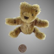 "Tiny 3"" Steiff Bear for Your Antique Doll"