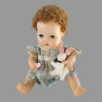 Adorable Vintage Cloth Bunny for Dy-Dee