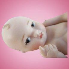 "Adorable 3.5"" Porcelain Artist Baby Doll"
