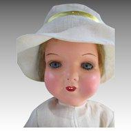 Darling Composition Head Doll on Cloth Body - All Original