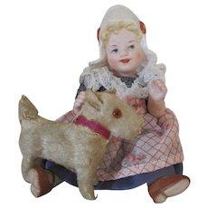 Artist Made Bonnet Head Doll