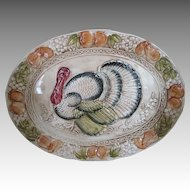 Beautiful Vintage Turkey Platter