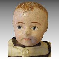 Antique Rollinson Cloth Doll - Adorable Face