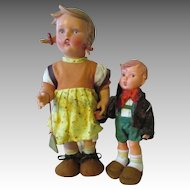 Vintage Hummel Dolls - All Original
