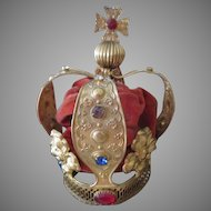 Beautiful Ormolu Crown For Your Antique Doll