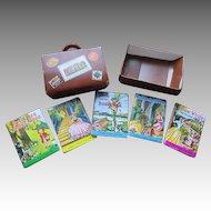 5 Boxed Mighty Midget Miniature Nursery Rhyme Character Books
