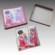 "Sweet 4"" Four Piece Puzzle For Your Doll"